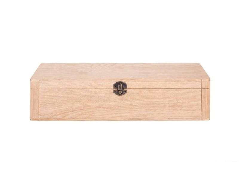 Mini kovčeg - drvena kutija za jednu bocu