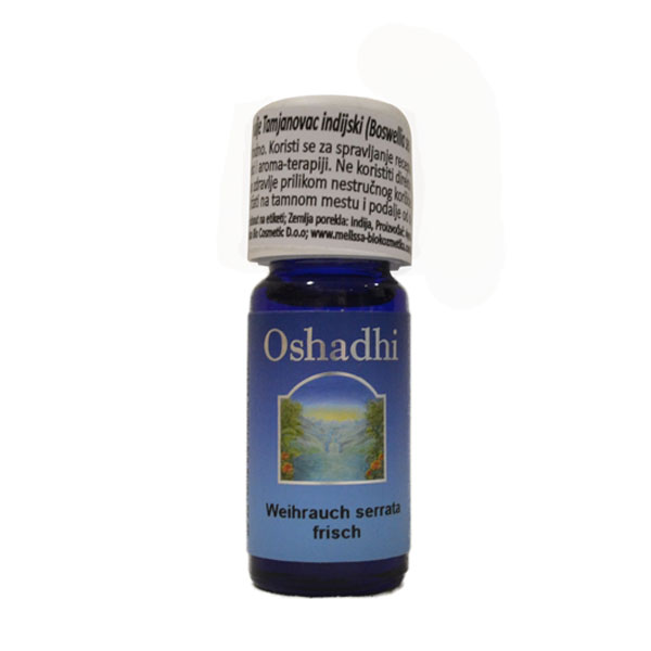 Oshadhi eterično ulje Tamjanovac indijski 10ml