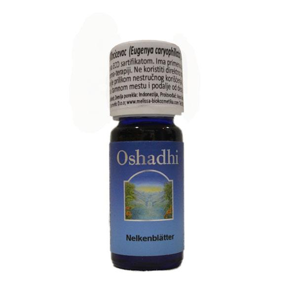 Oshadhi eterično ulje  klinčićevac -karanfilić list 10ml