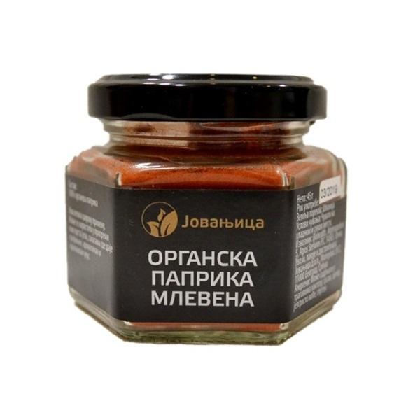 Mlevena paprika organic Jovanjica 45g