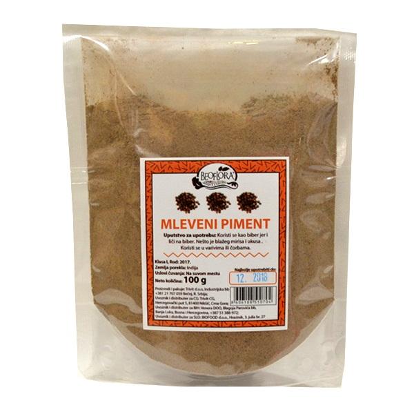 Mleveni piment Beoflora 100g