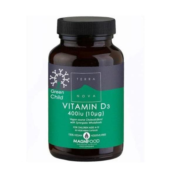Terranova  Vitamin D3 za decu 50 kapsula