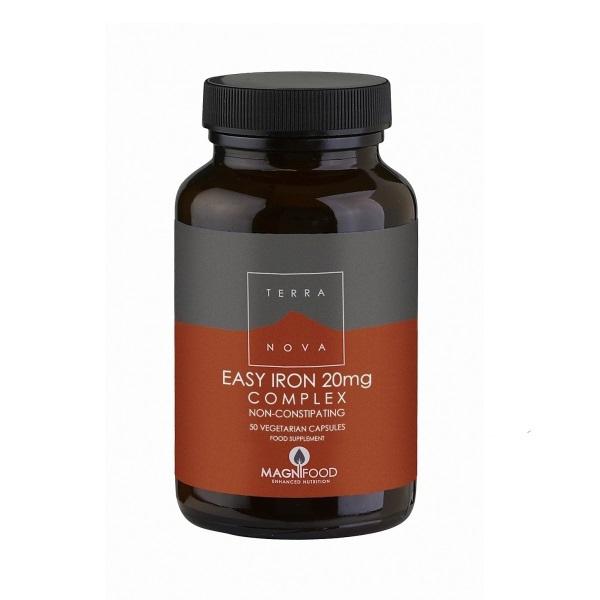 Terranova  Easy Iron komplex - dodatak ishrani sa mineralom gvožđa 50 kapsula