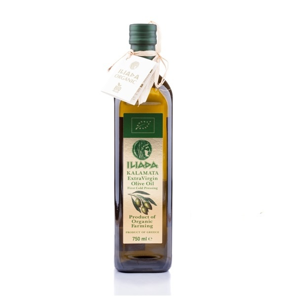 Ekstra devičansko maslinovo ulje organic Iliada750ml