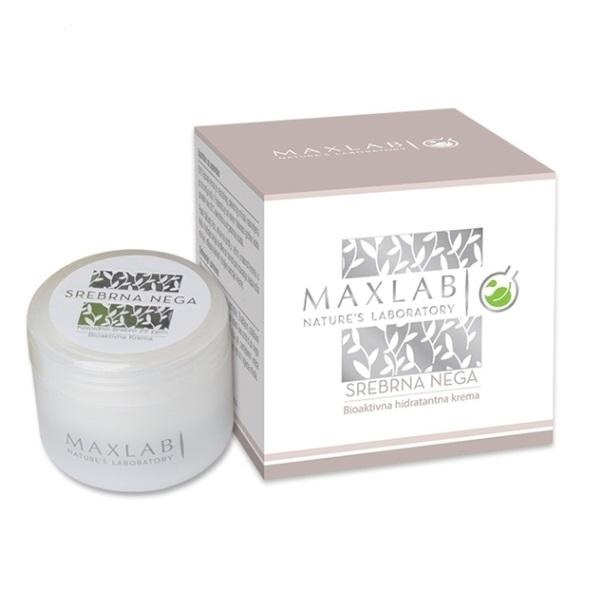 Maxlab Srebrna Bioaktivna Hidratantna Krema sa Koloidnim Srebrom  50ml