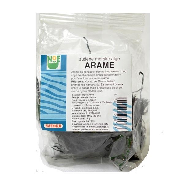 Alge Arame Mitoku 25g