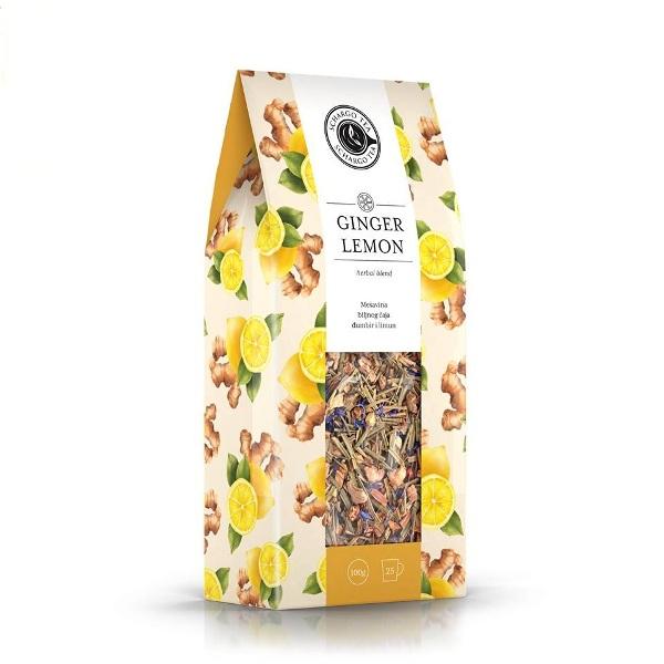 Mešavina biljnog čaja đumbir - limun Schargo Tea 100g