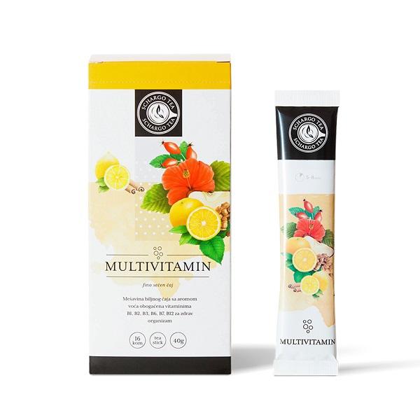Čaj multivitamin Schargo Tea 40g 16x2.5g