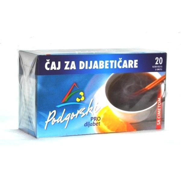 Filter čaj za dijabetičare sa cimetom