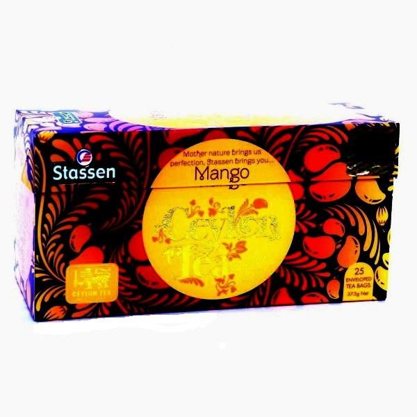 Stassen Mango  Cejlonski crni čaj  37,5g