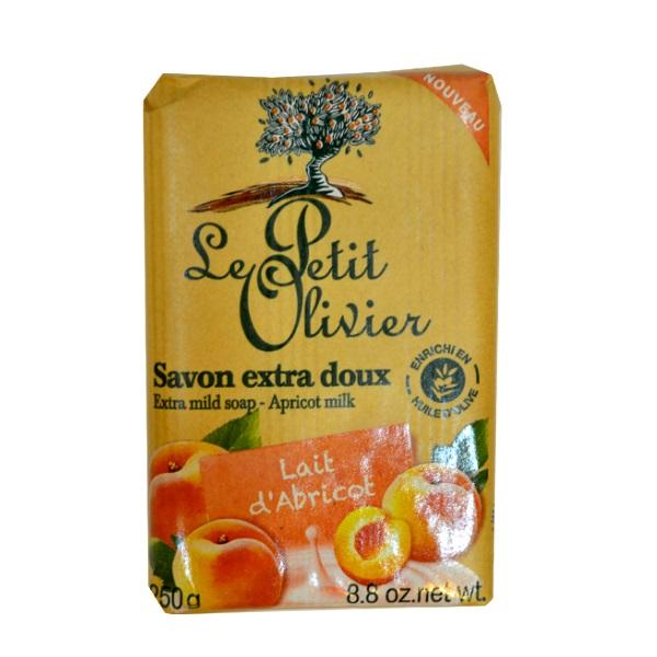 Le Petit Olivier extra blagi sapun –Kajsija 250g