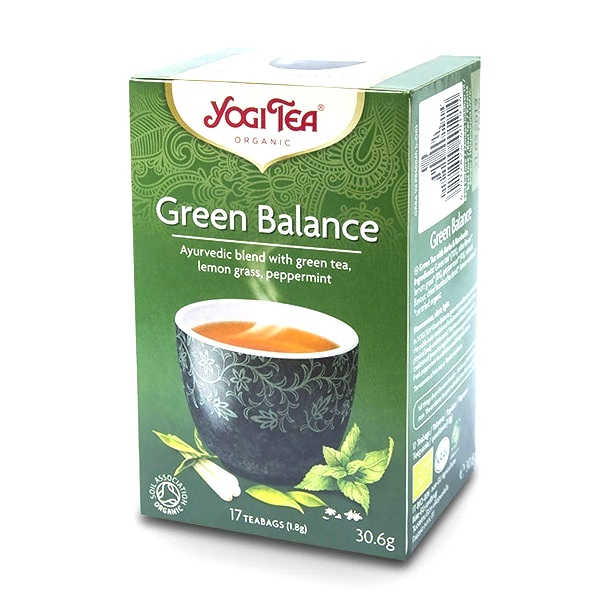Yogi čaj zeleni balans organski 30g