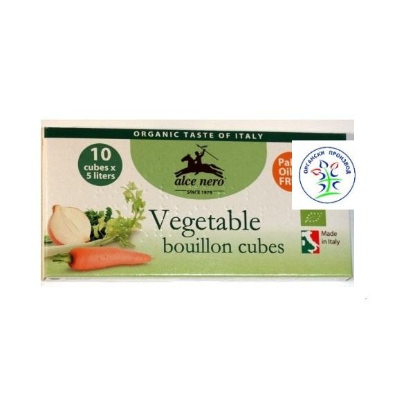 Kocka za supu sa povrćem organic 100g