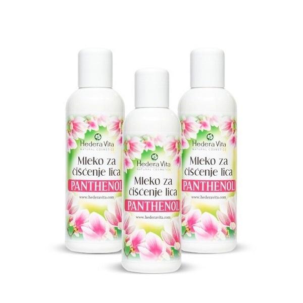 Hedera Vita - Mleko za čišćenje lica panthenol 150ml