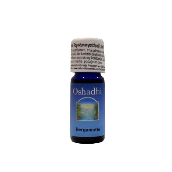 Oshadhi Eterično ulje Bergamot 10ml
