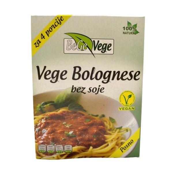 Vege Bolognese BeGe Vege 150g