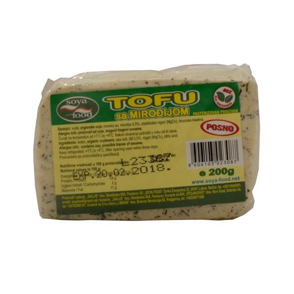 Tofu sir sa mirođijom 200g Soya Food