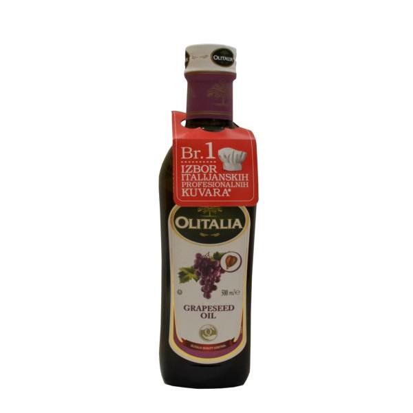 Ulje od koštica grožđa 500ml Olitalia
