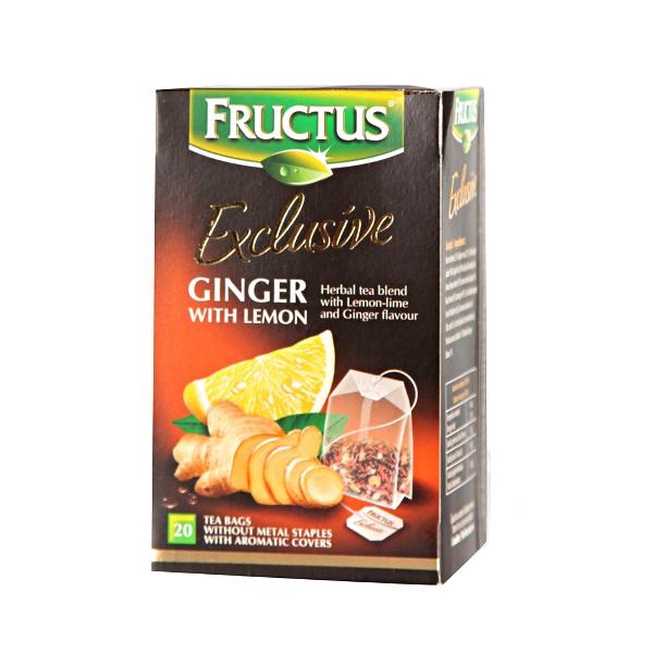 Fructus Čaj đumbir sa limunom 20 kesica