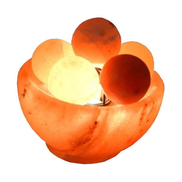 Lampa od himalajske soli-vatrene kugle