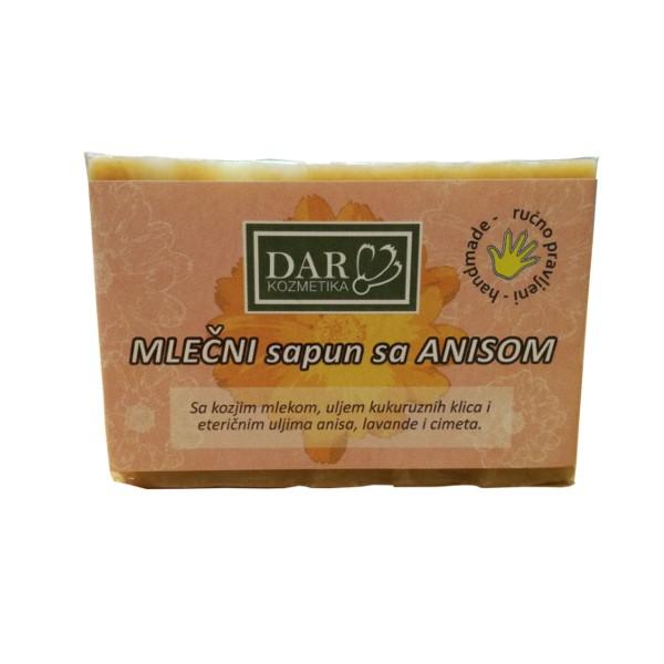 Mlečni Sapun sa anisom 100 g Dar kozmetika