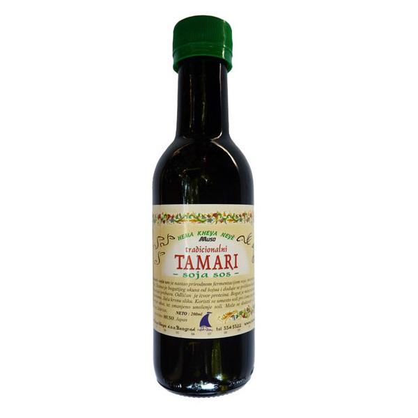 Tamari soja sos Muso 200ml
