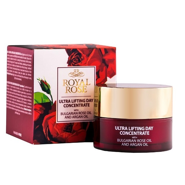 Royal Rose Ultra lifting dnevni koncentrat sa arganovim i ružinim uljem 40ml