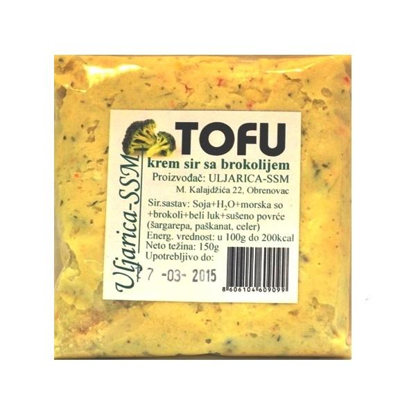 Tofu krem sir sa brokolijem 150g Uljarica SSM