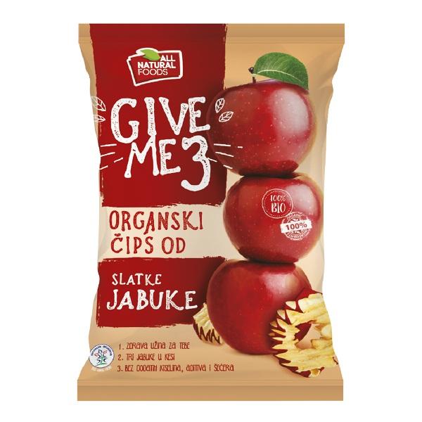 Čips od slatke jabuke organic 40g