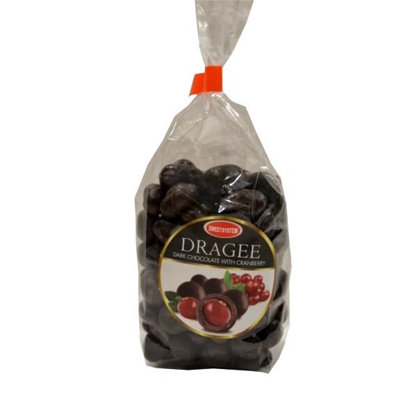 Draže crna čokolada brusnica 100g