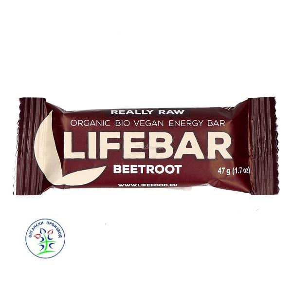 Lifebar dezert sa  cveklom organic 47g