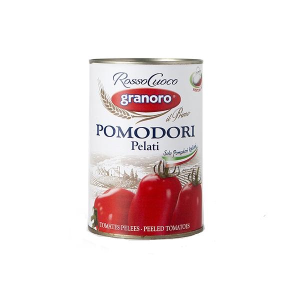 Oljušten paradajz u soku od paradajza 400 g