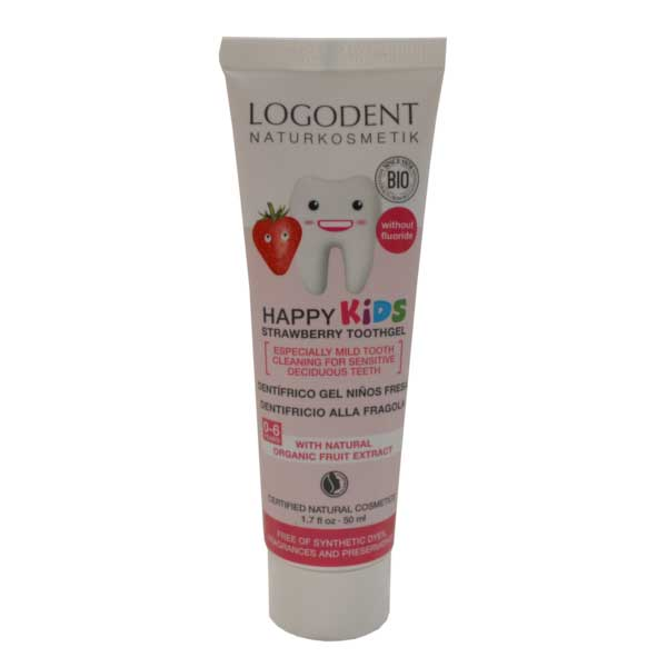 Logona Pasta za Zube Happy kids jagoda 50ml