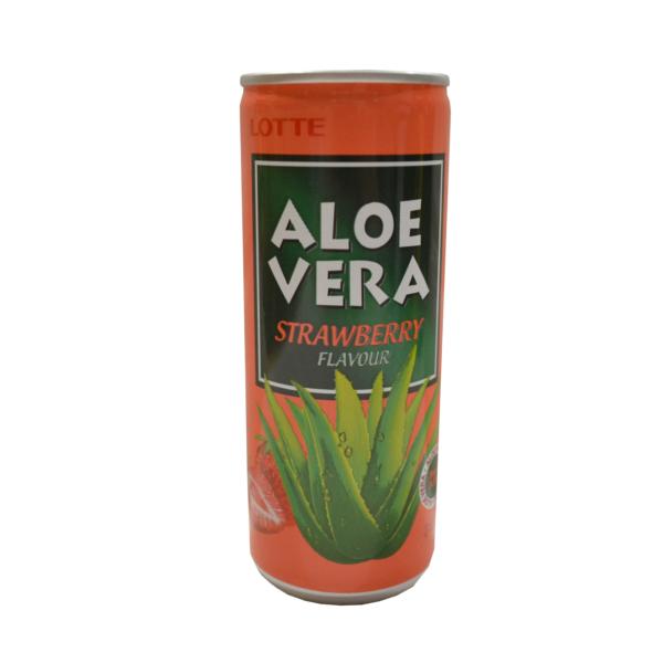 Aloe vera sa ukusom jagode Lotte 240ml