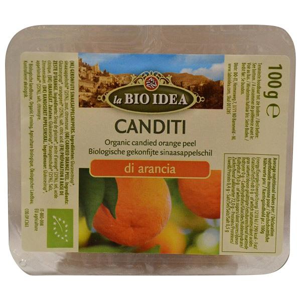 Kandirana kora pomorandže organic 100g