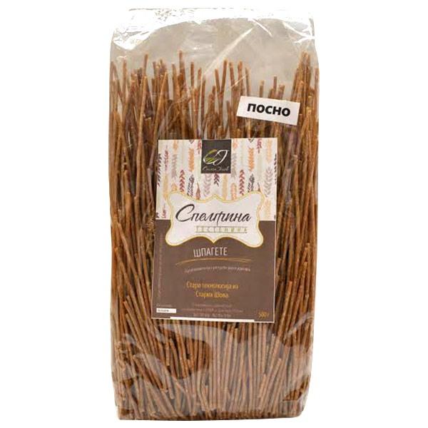 Testenina od spelte - špagete  500g