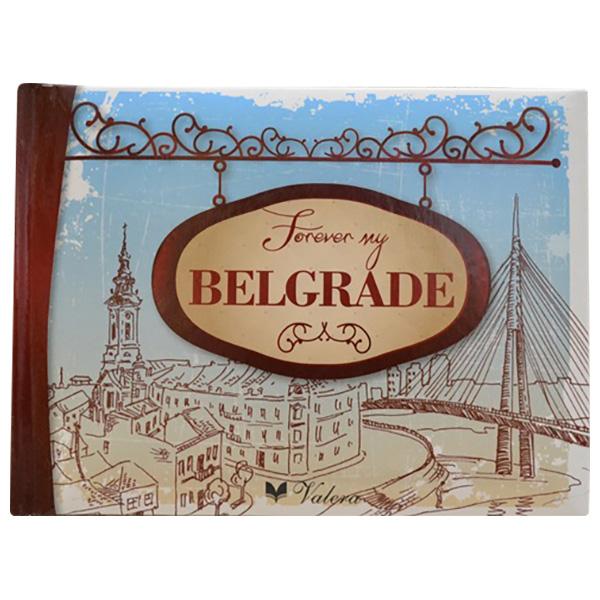 Forever my Belgrade poklon knjiga