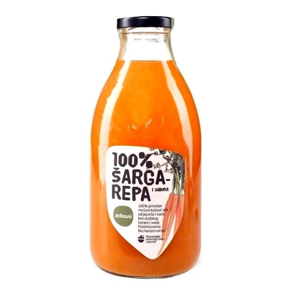 Sok od šargarepe Zdravo 750ml