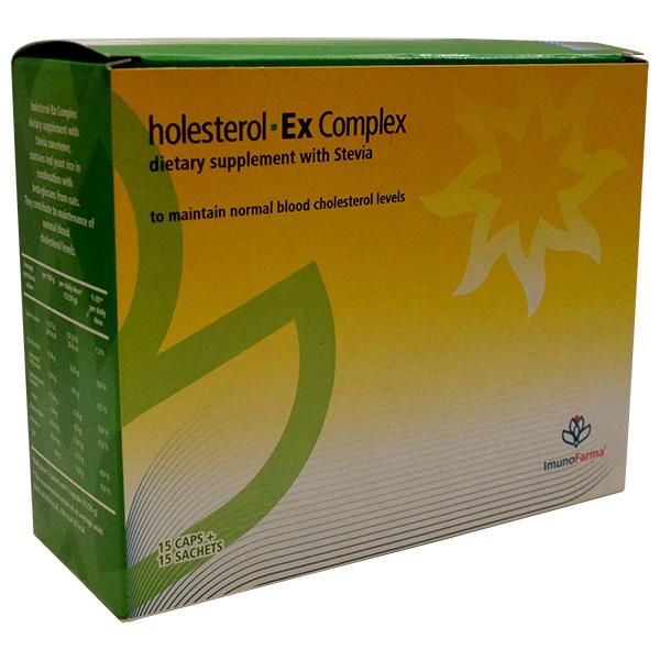 Holesterol-ex complex (15 kapsula+15 kesica)