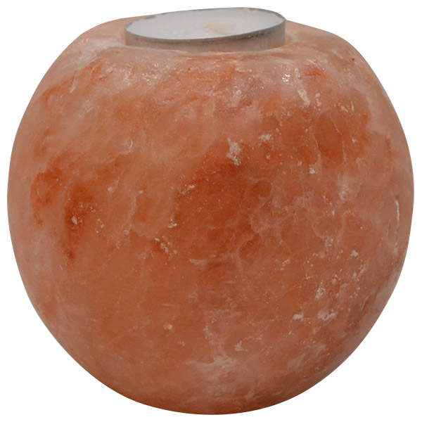 Svećnjak od himalajske soli u obliku Lopte