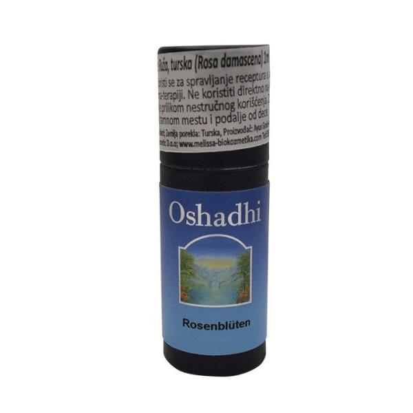 Oshadhi Eterično ulje Ruža turska 1ml