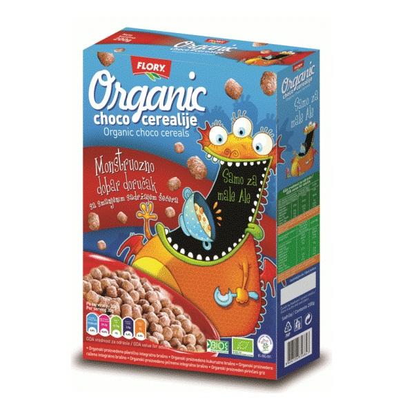 Čoko cerealije organic za decu Flory 200g