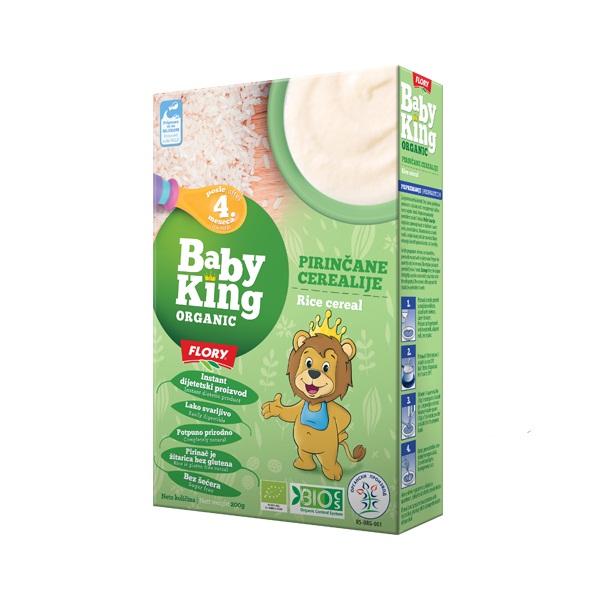 Pirinčane cerealije organic Baby King 200g