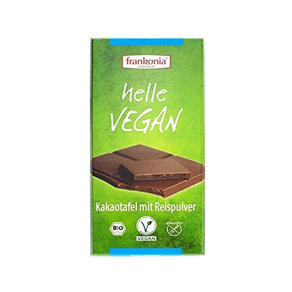 Vegan Helle čokolada Frankonia 100g