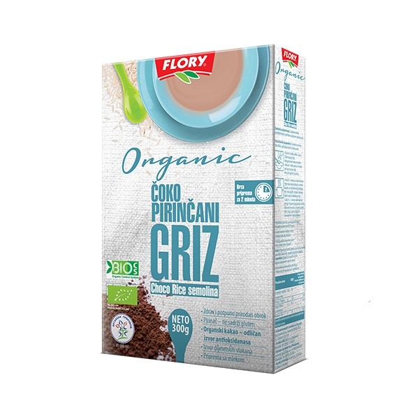 Čoko pirinčani griz organic Flory 300g