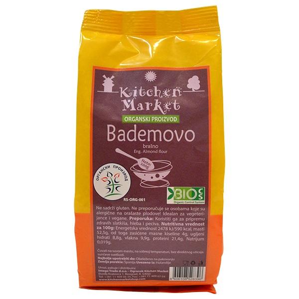 Bademovo brašno organic Kitchen Market 200g