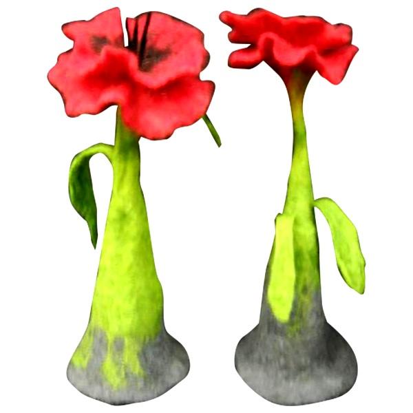 Ambijentalni cvet od pustovane vune