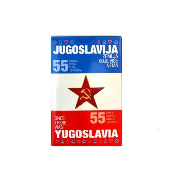 Špil karat za igru Jugoslavija zemlja koje više nema suvenir