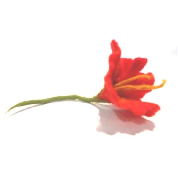 Cvet od pustovane vune 3