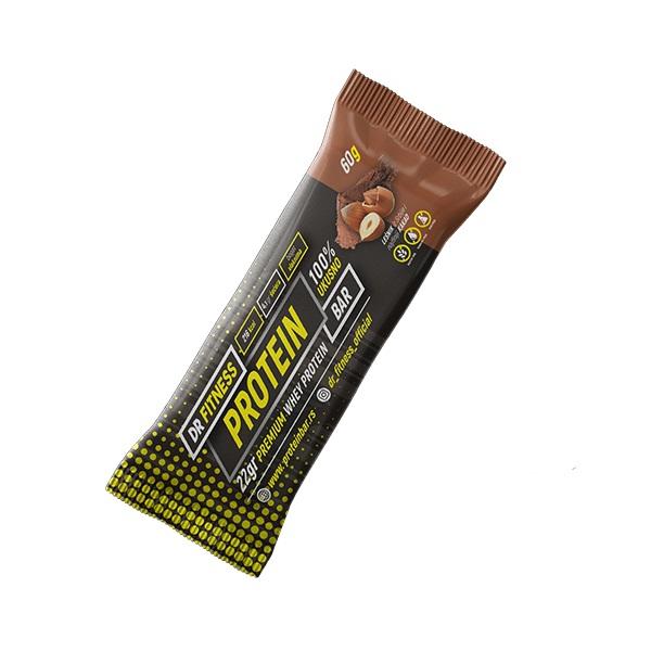 Protein bar lešnik - kakao Dr Fitness 60g